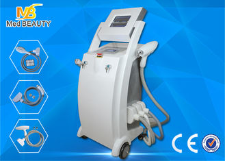 Cina Salon E-Light IPL RF Hair Removal Mesin / Elight IPL Rf Nd Yag Laser Mesin pemasok