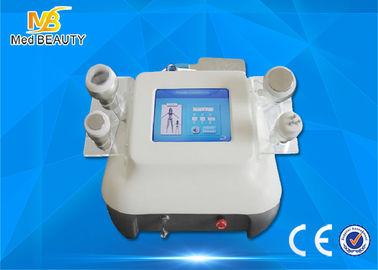 Cina Wajah Lifting Ultrasonic Cavitation Rf Slimming Machine, 8 Inch Warna Layar Sentuh Distributor