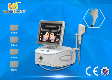 Cina Profesional High Intensity Focused Ultrasound HIFU Mesin Untuk Face Lift Distributor